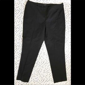 Lafayette 148 New York Black Ankle Pants Size 16